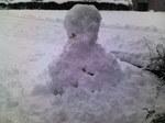 不恰好な雪だるま